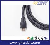 1m高速サポート720p/1080P/2160p厚い外の直径HDMI