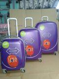 Colorfuleのトロリー荷物のABS荷物袋360旅行荷物セット