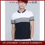 De Hete Formele T-shirt van uitstekende kwaliteit van het Polo van het Borduurwerk van de Verkoop (gzcd-143-3)