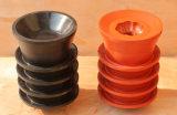 Puits de pétrole Non rotation de la cimentation des bouchons en caoutchouc