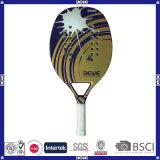 Haltbarer Kohlenstoff-Strand-Tennis-Schläger mit kundenspezifischem Firmenzeichen