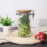 Freios com jarro de vidro de alta qualidade, frasco de vidro de segurança alimentar