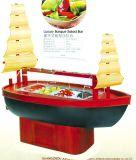 Frigorifero di legno della barra di insalata di brigantino a palo di lusso H-Cy2350FL4