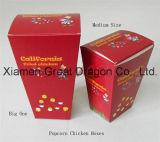 Papier de petit format pop-corn faveur traiter Boîtes (GD-PCB003)