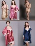 Пижамы Sleepware постельного белья Шелка Sleepware Шелка повелительницы просто Silk