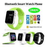 Sustentação esperta do telefone do relógio de Bluetooth 4.0 com ranhura para cartão Dm09 de SIM