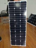 Hoher Leistungsfähigkeit Sunpower Zellen-halb flexibler Sonnenkollektor 120W
