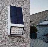 O diodo emissor de luz psto solar ao ar livre da parede exterior ilumina-se (solares pared de do luz)