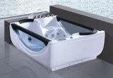 Banheira de massagem com hidromassagem de vidro com hidromassagem interior (506)