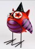 Uccello decorativo antico del metallo della decorazione del giardino della scultura di Migodesigns