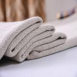 Tissu de toile de plaid de polyester pour le sofa et la présidence