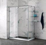 La conformité de SGCC a gâché la cabine 900*1200 millimètre de douche d'accessoires de salle de bains des verres de sûreté S/S
