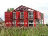 貯蔵容器の家の中国プレハブのデザイン