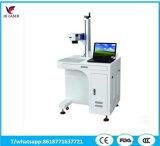 30W máquina de marcação a laser de fibra de plástico e metal