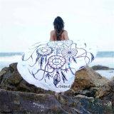 Coperta rotonda della spiaggia del tovagliolo di spiaggia di stampa popolare del cotone