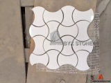 Зеленые/белые/серые/черные мраморный мозаики для украшения нутряной стены