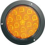 """LED 4"""" 둥근 정지 회전 테일 빛 Tl18"""