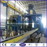 O feixe abrasivo do equipamento H da explosão aplica-se para a carcaça, forjamento para a limpeza
