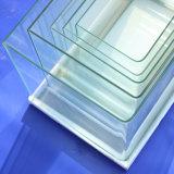 Fisch-Becken-gebogener Eckglasaquarium-Installationssatz
