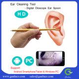 Cámara de inspección de limpieza del oído