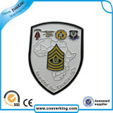 2016 Insignia de policía de la venta caliente con Relieve Logo