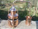 Distillatore di rame dell'asso, POT di rame dell'alcool ancora con il prezzo basso