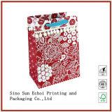 Emballage cadeau prix d'usine sac de papier coloré