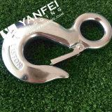 Type d'oeil d'acier inoxydable croc à échappement avec le loquet