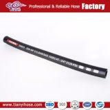 Tresse de fil en acier flexible en caoutchouc hydraulique