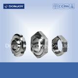 Unión DIN con tuerca redonda de acero inoxidable 304