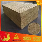 Roca-Lanas externas impermeables del aislante termal de la pared (edificio)