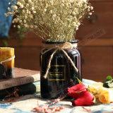 Vaso di fiore di vetro variopinto della decorazione di cerimonia nuziale