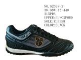 Deux couleurs d'hommes de la taille des chaussures de football