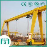 De Kraan van de brug met 3 Ton aan het Elektrische Hijstoestel van 16 Ton in het Type van Doos