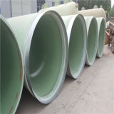 FRP GRP Rohr verwendet für Abwasser und chemische Industrie, Fiberglas verstärkter Plastikmörtel-Rohr