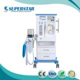 """S6100d keurde Ce Apparatuur van de Anesthesie van het Scherm van de Vertoning van 10.4 de """" Kleurrijke TFT LCD Medische goed"""