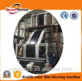 LLDPE /HDPE/ LDPE-doppelte Farbstreifen-Plastikfilm-durchbrennenmaschine