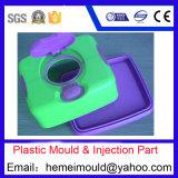 Doppia muffa di plastica di colore, iniezione di plastica
