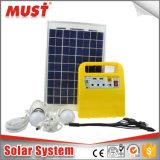 Mini sistema solar EWEW 10W / sistema solar portátil para luzes, fãs
