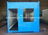 Дом контейнера a-Level низкой стоимости самомоднейшая складывая пожаробезопасная передвижная для горячего сбывания