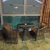 정원 가구 고정되는 금속 옥외 소파 및 테이블