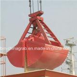 garra da parte superior da corda 15m3 quatro para o volume da carga