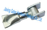 振動ゲートのための調節可能なナットそして版が付いているゲートの溶接の鉄のヒンジの金属のヒンジ
