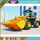 China Heavy Duty 5T cargadora de ruedas con el AC Joystick para la construcción de la máquina