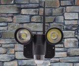 安いWiFiは屋外LEDの洪水ライトを変更する屋外の軽いカメラをつける