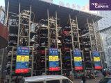 China stellte vertikales DrehParkplatz-Selbstparken-System des parken-Systerm/8 für die Limousine her (wahlweise freigestellt für SUV)
