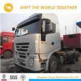 Buen precio Hongyan Iveco 10 camión tractor de ruedas