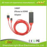 1080P HDTV om de Kabel van de Adapter te telefoneren