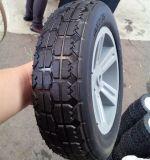 10 polegada meio vazio pneus de borracha para carrinho de mão