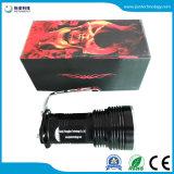 5X6w 18650再充電可能なLED 395nmの紫外線懐中電燈